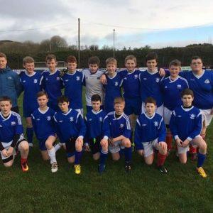 1st yr Boys Soccer 2016-17