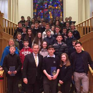 JC CSPE visit Dáil 2017